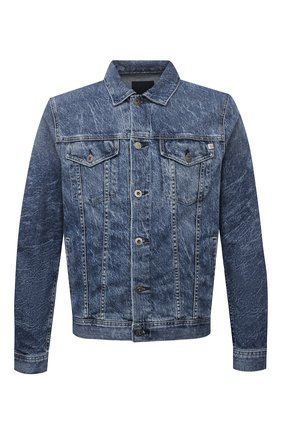 Мужская джинсовая куртка AG синего цвета, арт. 4496LED/15YVND/MX | Фото 1