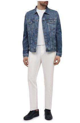 Мужская джинсовая куртка AG синего цвета, арт. 4496LED/15YVND/MX | Фото 2