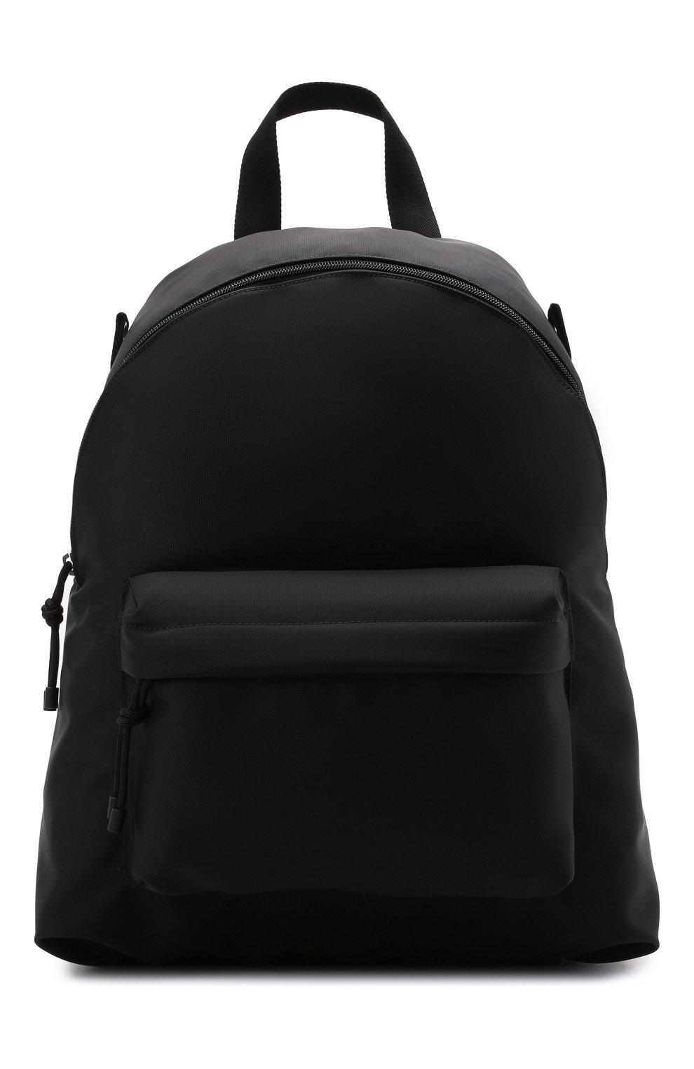 Мужской текстильный рюкзак VALENTINO черного цвета, арт. WY2B0A98/HQH | Фото 1 (Ремень/цепочка: На ремешке; Материал: Текстиль)