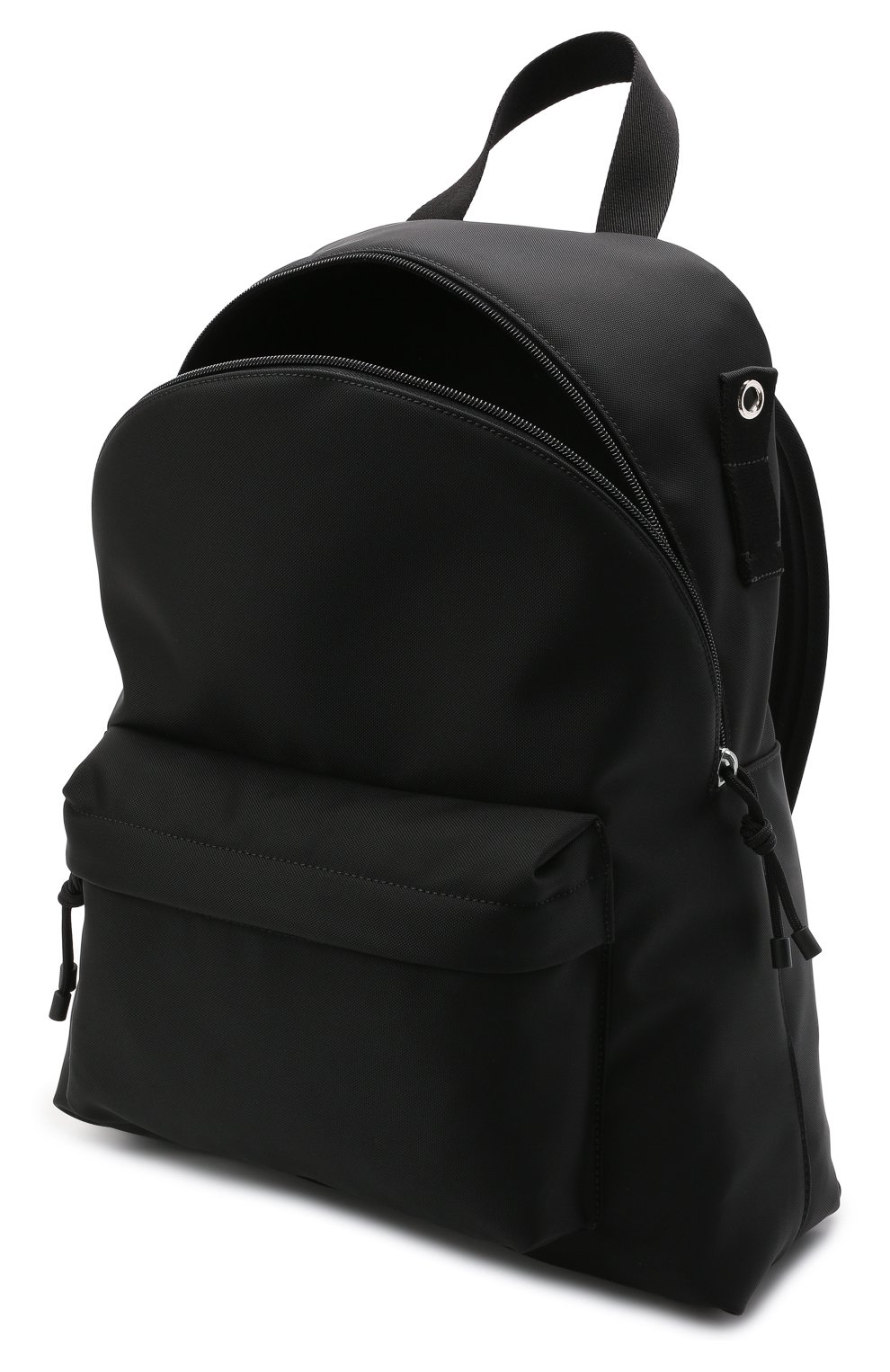 Мужской текстильный рюкзак VALENTINO черного цвета, арт. WY2B0A98/HQH | Фото 4 (Ремень/цепочка: На ремешке; Материал: Текстиль)