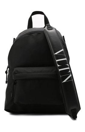 Мужской текстильный рюкзак VALENTINO черного цвета, арт. WY2B0A98/HQH | Фото 5 (Ремень/цепочка: На ремешке; Материал: Текстиль)