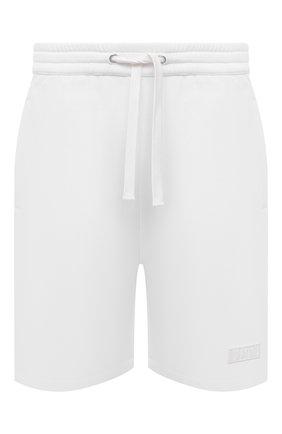 Мужские хлопковые шорты VALENTINO белого цвета, арт. WV3MD02D7FH | Фото 1