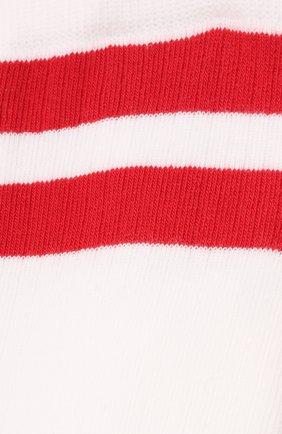 Мужские хлопковые носки VALENTINO белого цвета, арт. WV3KI01A7HV | Фото 2