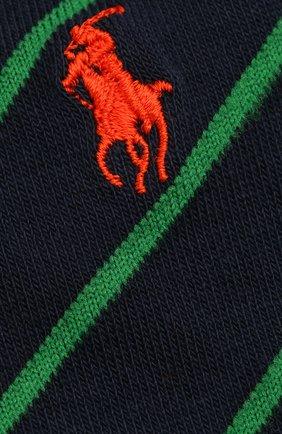 Мужские комплект из двух пар носков POLO RALPH LAUREN разноцветного цвета, арт. 449841585 | Фото 2