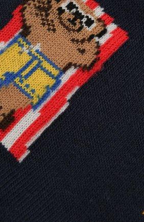 Мужские комплект из двух пар носков POLO RALPH LAUREN разноцветного цвета, арт. 449841584 | Фото 2