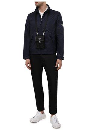 Мужская куртка PRADA синего цвета, арт. SGB463-1WQ9-F0124-202 | Фото 2