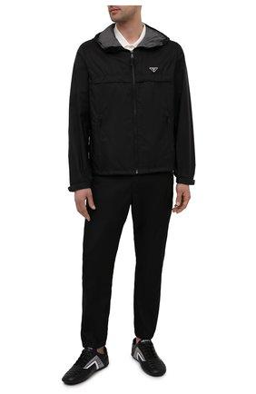 Мужская куртка PRADA черного цвета, арт. SGB460-1WQ9-F0N5A-202   Фото 2