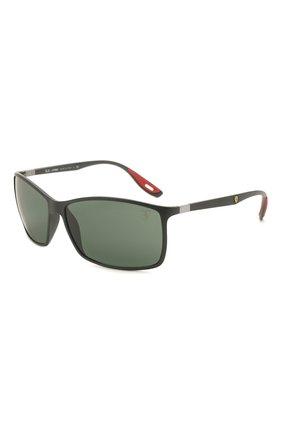 Мужские солнцезащитные очки RAY-BAN черного цвета, арт. 4179M-F60271 | Фото 1