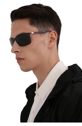 Мужские солнцезащитные очки RAY-BAN черного цвета, арт. 4179M-F60271 | Фото 2