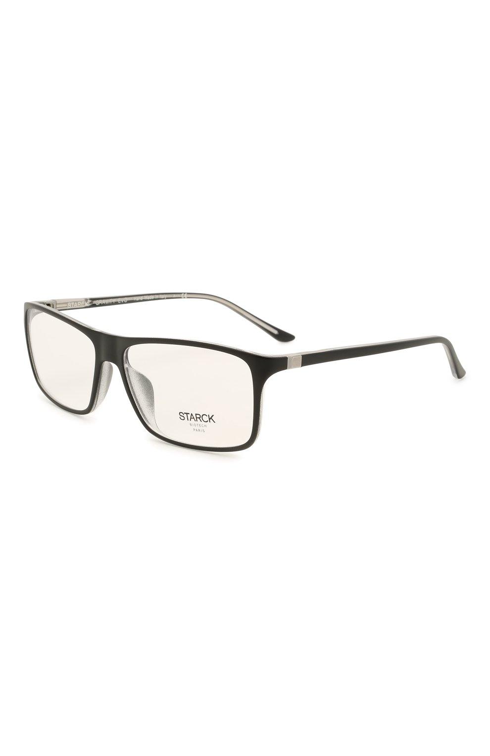Мужские оправа STARCK EYES черного цвета, арт. 1043X-0032 | Фото 1 (Тип очков: Оправа; Очки форма: Прямоугольные; Оптика Гендер: оптика-мужское)