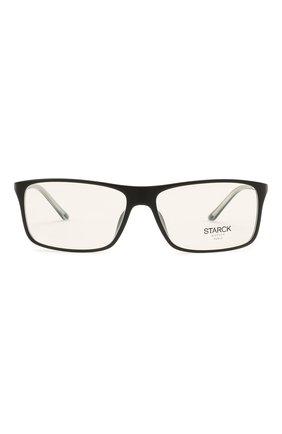 Мужские оправа STARCK EYES черного цвета, арт. 1043X-0032 | Фото 3 (Тип очков: Оправа; Очки форма: Прямоугольные; Оптика Гендер: оптика-мужское)