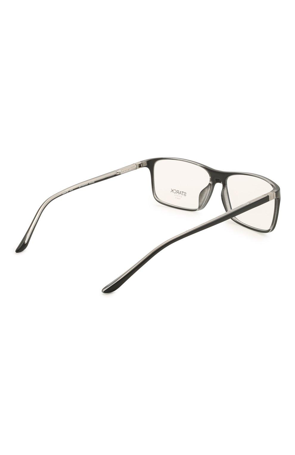 Мужские оправа STARCK EYES черного цвета, арт. 1043X-0032 | Фото 4 (Тип очков: Оправа; Очки форма: Прямоугольные; Оптика Гендер: оптика-мужское)
