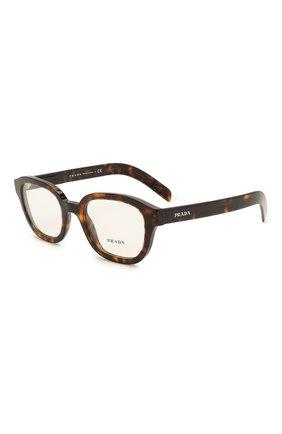 Мужские оправа PRADA коричневого цвета, арт. 11WV-2AU101 | Фото 1 (Тип очков: Оправа; Очки форма: Прямоугольные; Оптика Гендер: оптика-мужское)