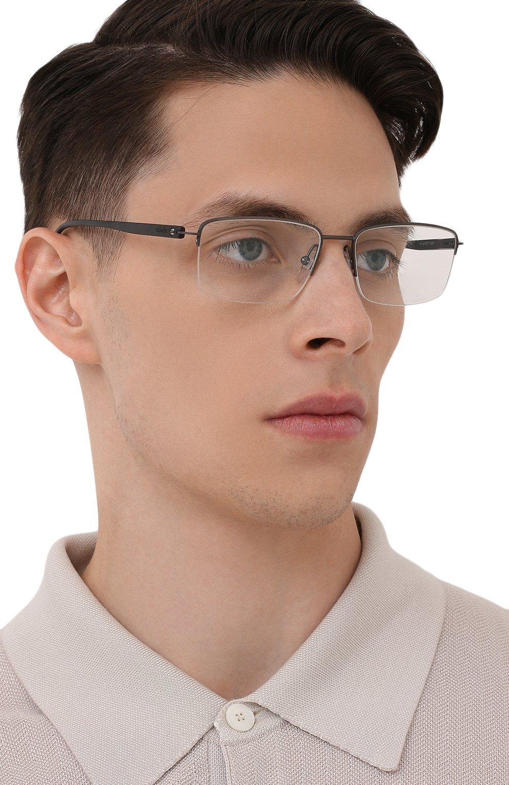 Мужские оправа STARCK EYES черного цвета, арт. 2053T-0001   Фото 2 (Тип очков: Оправа; Очки форма: Прямоугольные; Оптика Гендер: оптика-мужское)