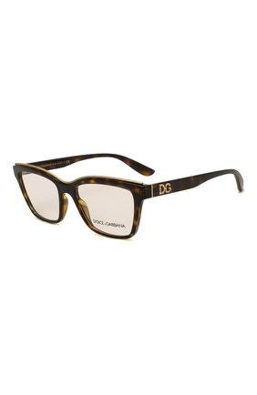 Женские оправа DOLCE & GABBANA коричневого цвета, арт. 5064-502 | Фото 1 (Тип очков: Оправа; Очки форма: Прямоугольные; Оптика Гендер: оптика-женское)