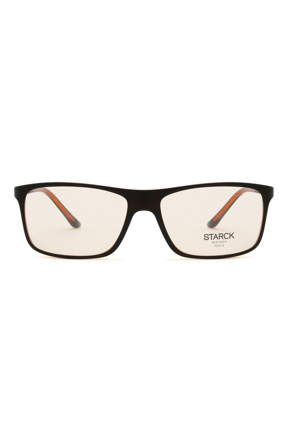Мужские оправа STARCK EYES черного цвета, арт. 1365X-0033   Фото 3 (Тип очков: Оправа; Очки форма: Прямоугольные; Оптика Гендер: оптика-мужское)