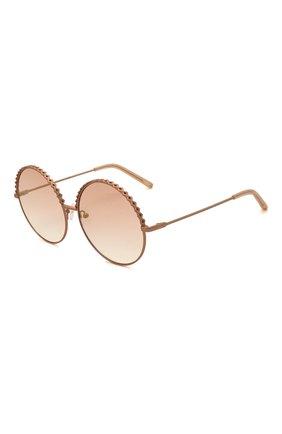Женские солнцезащитные очки MATTHEW WILLIAMSON розового цвета, арт. MW274C6 SUN | Фото 1