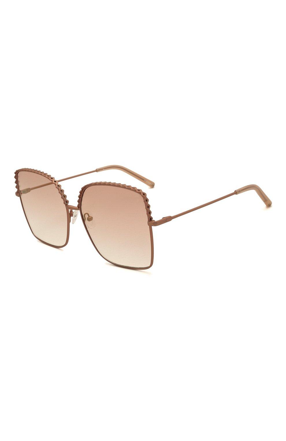 Женские солнцезащитные очки MATTHEW WILLIAMSON розового цвета, арт. MW276C6 SUN   Фото 1 (Тип очков: С/з; Оптика Гендер: оптика-женское; Очки форма: Бабочка)