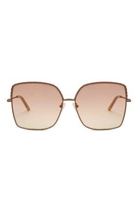 Женские солнцезащитные очки MATTHEW WILLIAMSON розового цвета, арт. MW276C6 SUN   Фото 3 (Тип очков: С/з; Оптика Гендер: оптика-женское; Очки форма: Бабочка)