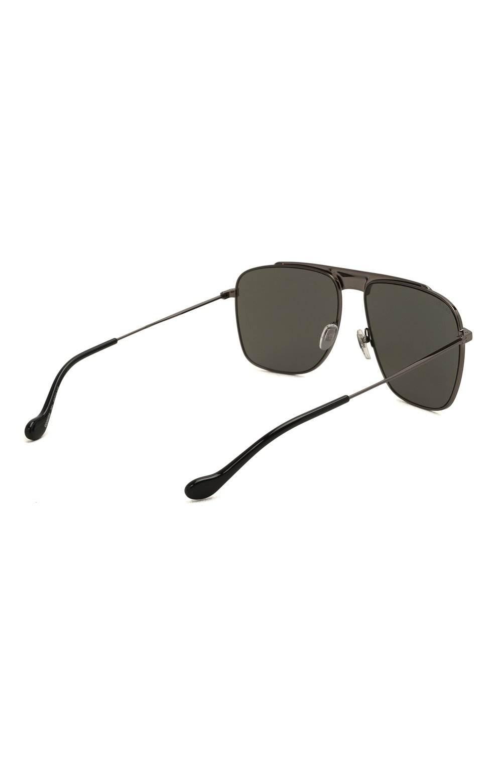 Мужские солнцезащитные очки GUCCI серого цвета, арт. GG0909S 001 | Фото 4 (Тип очков: С/з; Очки форма: Прямоугольные; Оптика Гендер: оптика-мужское)