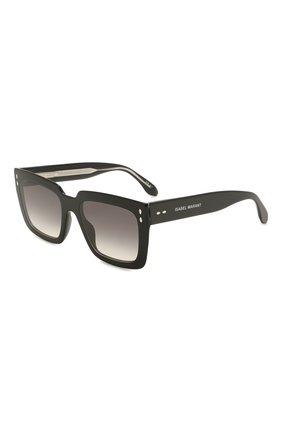Женские солнцезащитные очки ISABEL MARANT черного цвета, арт. IM0005/N 807 | Фото 1