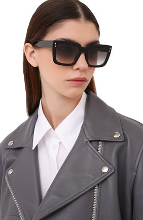 Женские солнцезащитные очки ISABEL MARANT черного цвета, арт. IM0005/N 807 | Фото 2