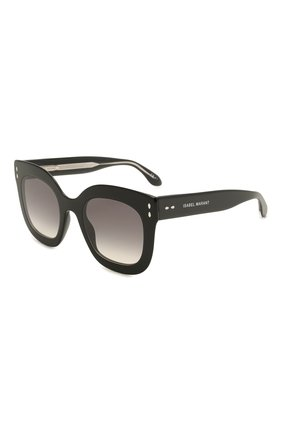 Женские солнцезащитные очки ISABEL MARANT черного цвета, арт. IM0002/N 807 | Фото 1