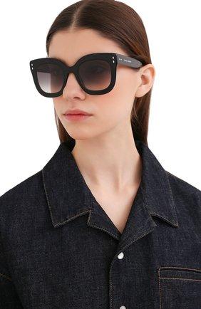 Женские солнцезащитные очки ISABEL MARANT черного цвета, арт. IM0002/N 807 | Фото 2