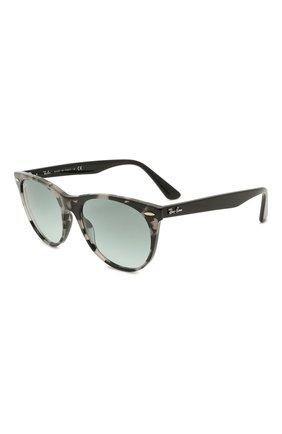 Женские солнцезащитные очки RAY-BAN серого цвета, арт. 2185-1250AD | Фото 1