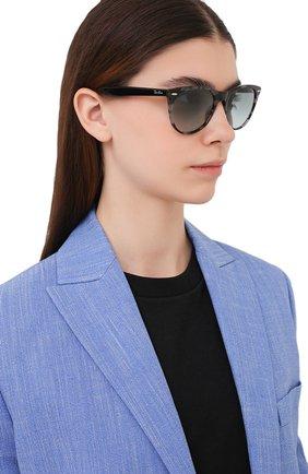 Женские солнцезащитные очки RAY-BAN серого цвета, арт. 2185-1250AD | Фото 2