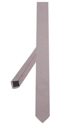 Мужской шелковый галстук HUGO розового цвета, арт. 50454872 | Фото 2