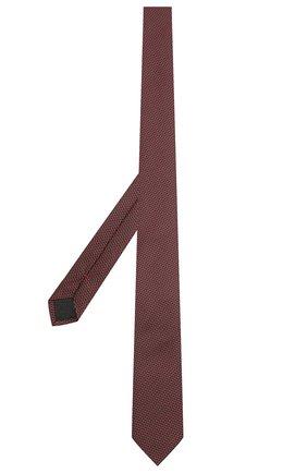 Мужской шелковый галстук HUGO красного цвета, арт. 50454882 | Фото 2