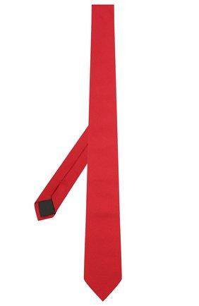 Мужской шелковый галстук HUGO красного цвета, арт. 50452007 | Фото 2