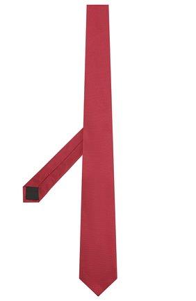 Мужской шелковый галстук HUGO красного цвета, арт. 50455278 | Фото 2