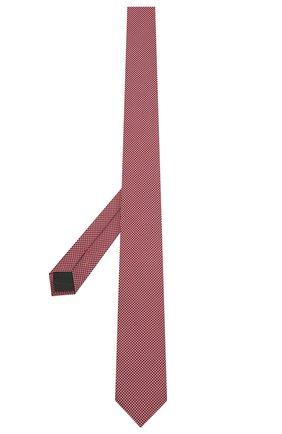 Мужской шелковый галстук HUGO красного цвета, арт. 50454872 | Фото 2