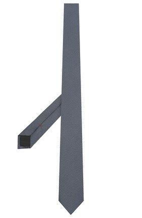 Мужской шелковый галстук HUGO темно-синего цвета, арт. 50454872 | Фото 2