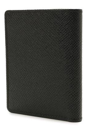 Мужской кожаный футляр для кредитных карт BOSS черного цвета, арт. 50452068   Фото 2