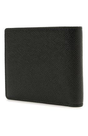 Мужской кожаное портмоне BOSS черного цвета, арт. 50452084   Фото 2