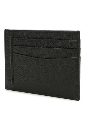 Мужской кожаный футляр для кредитных карт BOSS черного цвета, арт. 50452087 | Фото 2