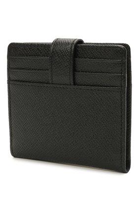 Мужской кожаный футляр для кредитных карт BOSS черного цвета, арт. 50445883   Фото 2