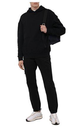 Мужские хлопковые джоггеры A-COLD-WALL* черного цвета, арт. ACWMB052 | Фото 2