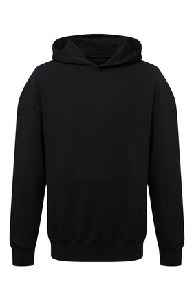 Мужской хлопковое худи A-COLD-WALL* черного цвета, арт. ACWMW033 | Фото 1