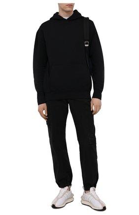 Мужской хлопковое худи A-COLD-WALL* черного цвета, арт. ACWMW033 | Фото 2