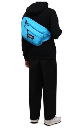 Текстильная поясная сумка Oversized XXL | Фото №2