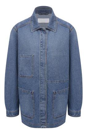 Женская джинсовая куртка BOSS синего цвета, арт. 50453844 | Фото 1