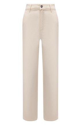 Женские джинсы BOSS кремвого цвета, арт. 50448396 | Фото 1