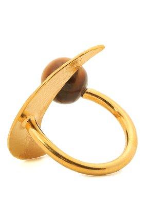 Женское кольцо ellipse loewe x paula's ibiza LOEWE золотого цвета, арт. J053305X35 | Фото 2