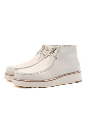Женские кожаные ботинки prost GABRIELA HEARST кремвого цвета, арт. 2218350 SC003 | Фото 1
