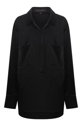 Женская блузка ESCADA черного цвета, арт. 5035624 | Фото 1