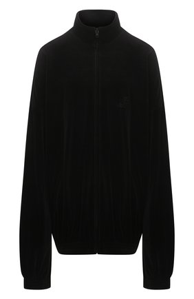 Женская куртка BALENCIAGA черного цвета, арт. 659098/TKQ12 | Фото 1